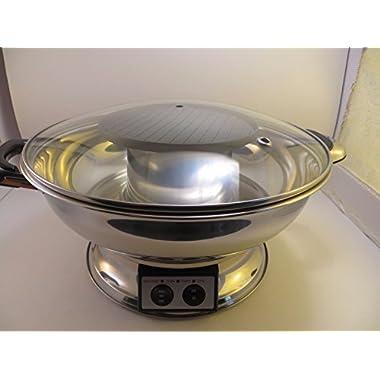Shabu Shabu Hot Pot with BBQ Grill by M.V. Trading