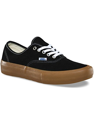Vans U Authentic - Baskets Mode Mixte Adulte Black Light Gum
