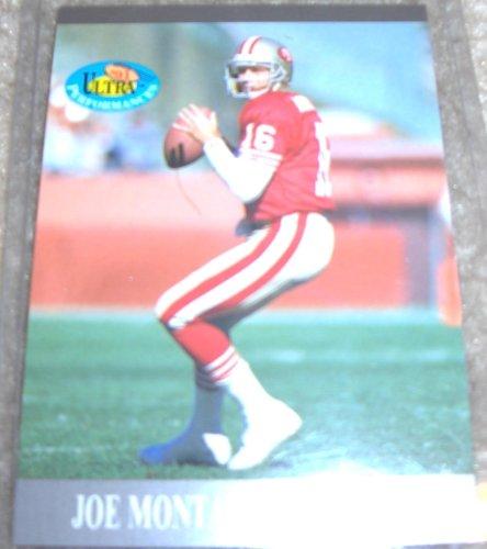 1991 Fleer Ultra Joe Montana NFL Football Ultra Performance Card