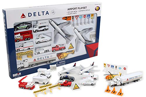 - Delta 25pc. Airport Play Set