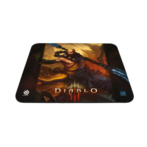 SteelSeries QcK Diablo III Gaming Mouse Pad - Monk Edition (Monk Mouse Pad)