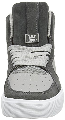 Supra Vaider 3000, Sneaker Alte Unisex - Adulto Grigio (Grau (Light Grey / Grey - Off White Gry))