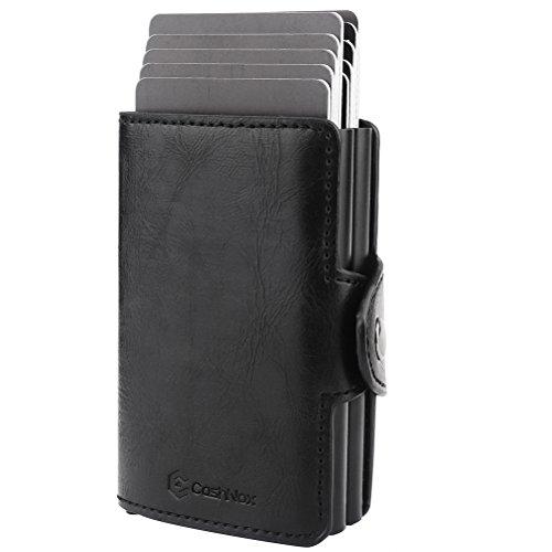 Carta Porta Rfid Di Carte Nero Portafoglio Cashnox Credito c f416ZW4qa