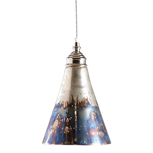 Small Blue Glass Pendant Lights
