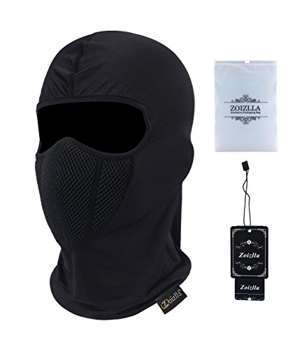 Balaclava Ski Mask, Zoizlla Motorcycle Face Mask for Men/Women, Thin Breathable Face Mask, Tactical Mask Snowboard Headgear - (Snow Head)