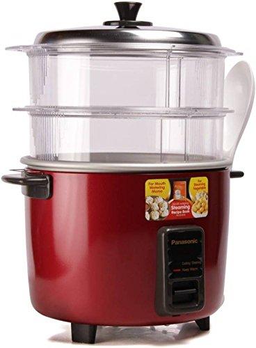 Panasonic SR-WA18H (SS) Rice Cooker, Food Steamer (4.4 L,