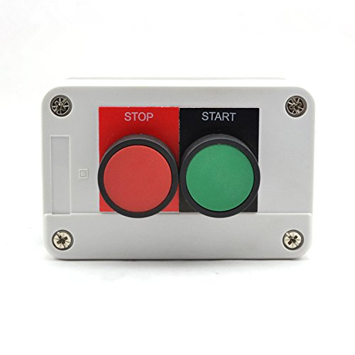 """220V Waterproof Push Button On-Off Switch With 4/"""" Le CWBPH/_gu"""