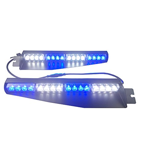 Blue Led Visor Light in Florida - 3