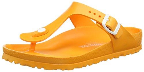 Birkenstock Gizeh Eva - Sandalias de dedo Mujer Naranja - Orange (Neon Orange)