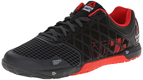 69a02bd4f Reebok Men's Crossfit Nano 4.0 Training Shoe, Black/China Red/Gravel, 7 M  US - Buy Online in Oman. | Apparel Products in Oman - See Prices, Reviews  and Free ...