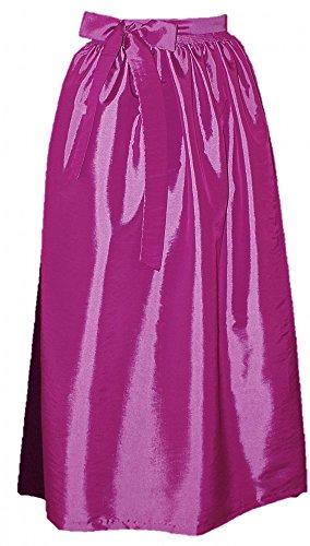 32-50 S M L XL Dirndl Schürze Dirndlschürze Trachten Mode grün pink rot rosa neu, Pink, L 40 42 44