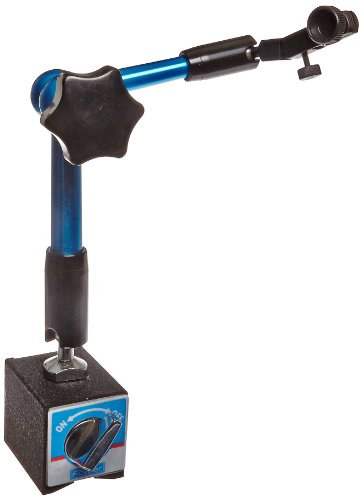 Fowler 52-585-095 Hydraulic Arm Magnetic Base, 180lbs Pulling Power by Fowler (Image #1)