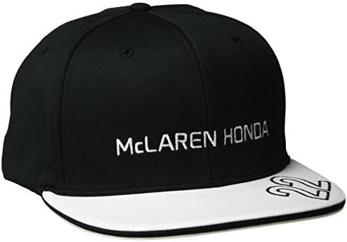 McLaren F1 Herren Jenson Button Flat Peak Cap