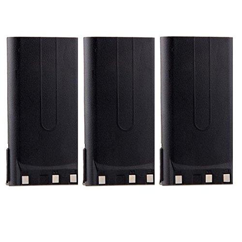 3PCS 7.4V 1200mAh NiCD KNB-14 KNB15 Battery for Kenwood Portable Handheld Two-Way Radio TK-2100 TK-2102 TK-2107 TK-3100 TK-3107 TK-3102