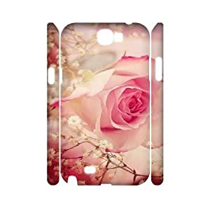 D-Y-Y2034249 3D Art Print Design Phone Back Case Customized Hard Shell Protection Samsung Galaxy Note 2 N7100