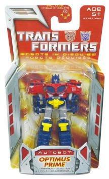 - Transformers Legends Robots in Disguise Optimus Prime Miniature Figure (3