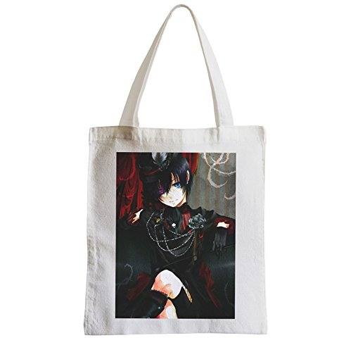 Big Bag Shopping Beach Student Nero Maggiordomo Cielo Phantomhive Manga