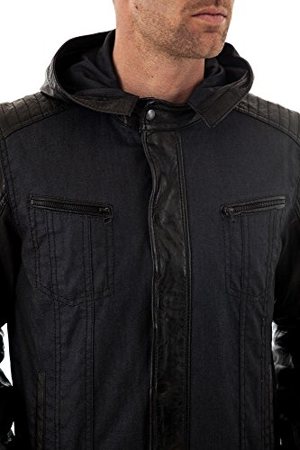 Trapper Jacke Baxter Blue/Black