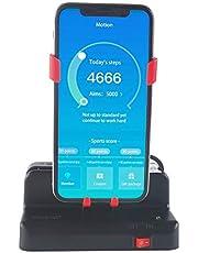 Mcbazel Automatisk stegräknare för Pokemon Go – mobiltelefonstegräknare – svart och röd