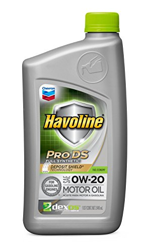 - Havoline 0W-20 ProDS Full Synthetic Motor Oil - 1 qt.