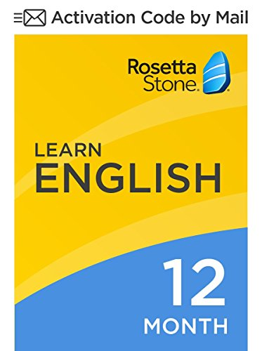 Rosetta Stone: Learn English (American) for 12 months on iOS, Android, PC, and Mac [Activation Code by Mail] by...