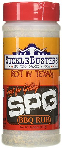 SuckleBusters Salt Pepper Garlic SPG BBQ Rub 14.50 ()