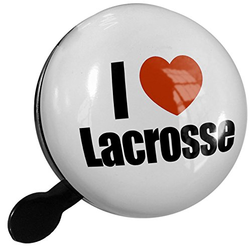 Small Bike Bell I Love Lacrosse - NEONBLOND by NEONBLOND (Image #1)