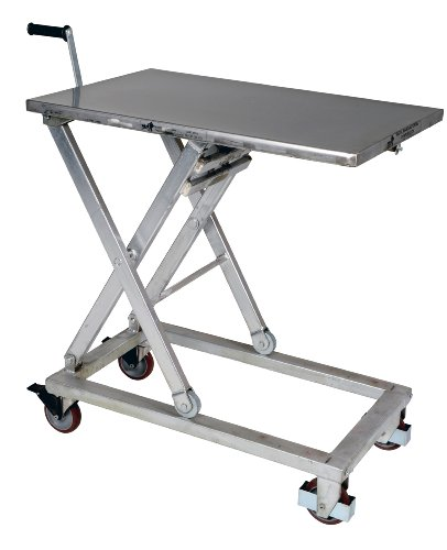 Vestil-CART-660-M-PSS-Partially-Stainless-Steel-Mechanical-Scissor-Cart-660-lb-Capacity-37-x-23-12-Platform-17-14-to-39-14-Height-Range