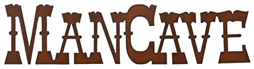 Rustic Metal Wall Sign - Riw The