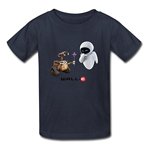 [AOPO Wall E T-shirt For Kids Unisex Small Navy] (Madeline Halloween Costume Ideas)