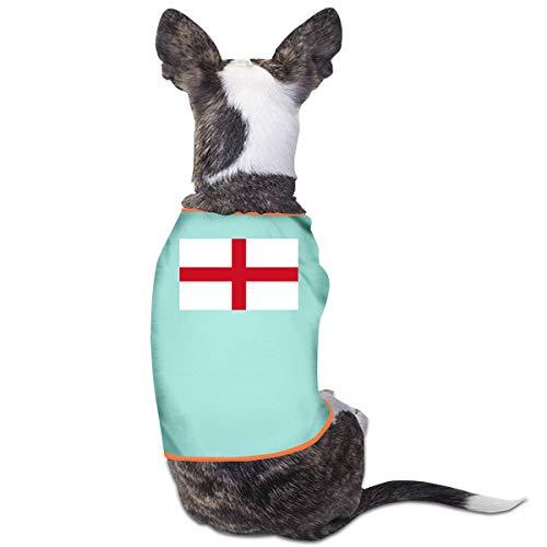 LNUO-2 Pet Shirt, Flag of England Dog Cat Clothes Costume]()
