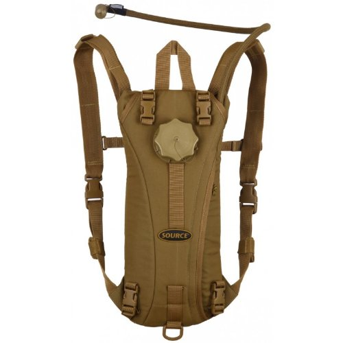 Camelback Hydration Systems (Source Tactical Advance Mobility 3-Liter Hydration System Pack, 3 Usage Modes (Coyote))