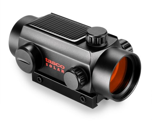 TASCO Red Dot 1 x 32 Riflescope, Solar Cell Red Dot for .22
