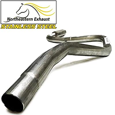 Stainless Steel Exhaust System Kit fits: 1998-2003 Ford Escort ZX2: Automotive