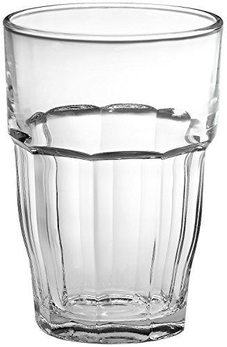 Beverage Highball (Bormioli Rocco Rock Bar 16-1/4-Ounce Stackable Beverage Glasses, Set of 6)