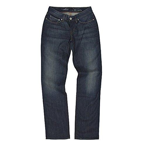 Levis® Bold Curve Straight Leg Jeans en azul oscuro Azul