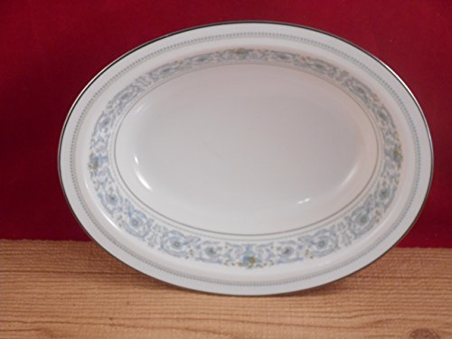 (Noritake Ivory China Japan 7569 Monteleone Oval Serving Bowl 10 Inches)