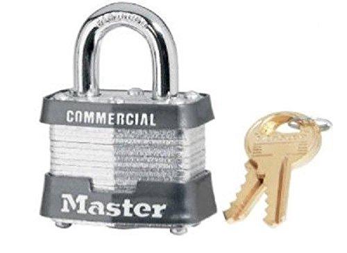 New Case (6) Master Lock 3ka 3210 #3 Keyed Alike Steel 4 Pin Pad Locks 6883144