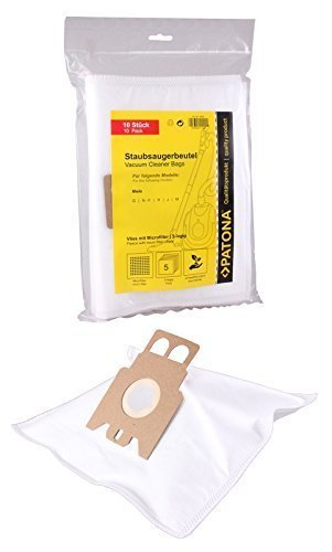 20 Staubsaugerbeutel für den Miele S 8340 EcoLine Staubsauger --- Material: Vlies 5-lagig --- 20er Packung inkl. 2 Mikrofilter