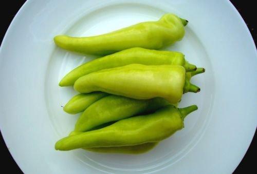 Sweet Banana Pepper 1/2 LB seed) Superb Proven Heirloom Mild Chile