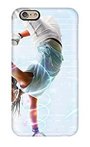 For Iphone 6 Tpu Phone Case Cover(hip Hop Dancer)