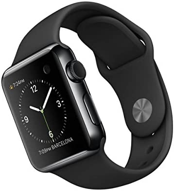 Apple Watch 38 mm - Smartwatch iOS con caja de acero inoxidable en ...