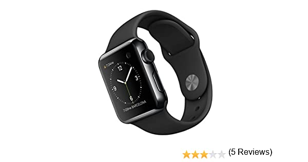 Apple Watch 38 mm - Smartwatch iOS con caja de acero inoxidable en ...