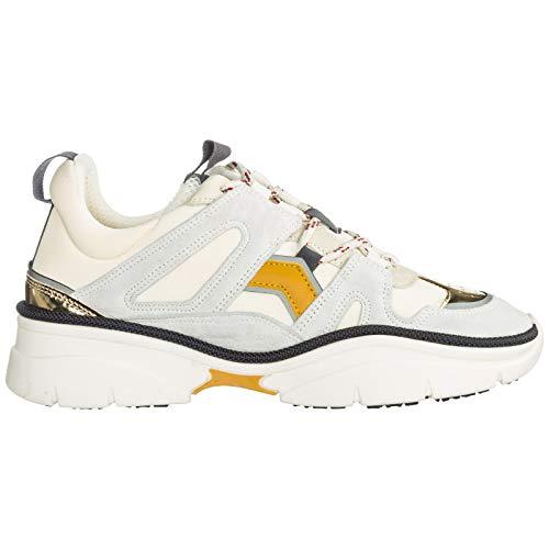 Sneakers Bianco Donna Kindsay Isabel Marant wx8qX0Yx