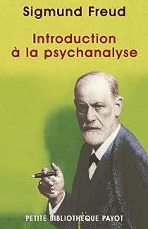 Introduction à la psychanalyse par Freud