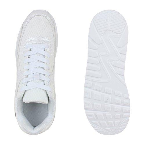 Herren Damen Sportschuhe Laufschuhe Runners Sneakers Prints Flandell Weiss Camargo