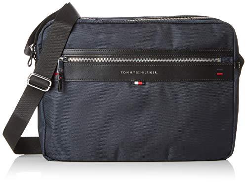 Tommy Hilfiger Elevated Messenger, Men's Shoulder Bag, Blue (Tommy Navy), 9.5x30x28 cm (B x H T)