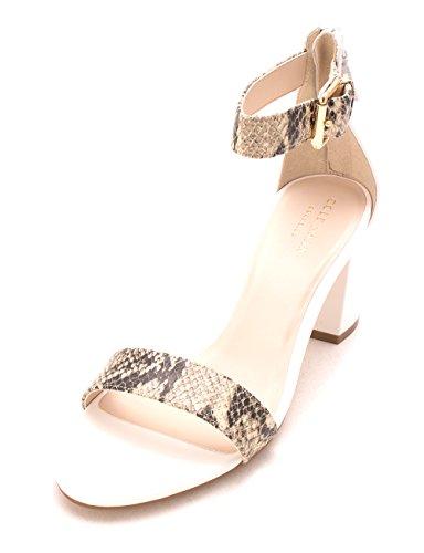 Optic White Leather II Sandales Femme Clarette Haan Cole wqaOXva