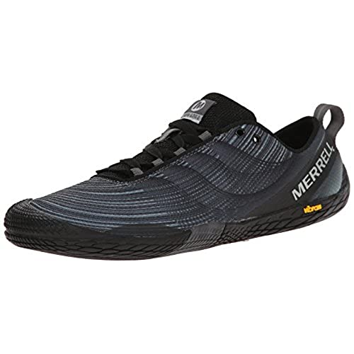 Merrell Men's Vapor Glove 2 Trail Running Shoe, Black/Castle Rock, 11 M US
