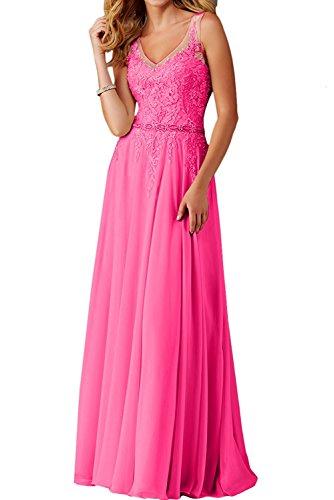 La mia Kleider Jugendweihe Linie Langes Festlichkleider Spitze Braut A Abendkleider Pink Rock Partykleider Chiffon Abschlussballkleider Blau wFrdgw